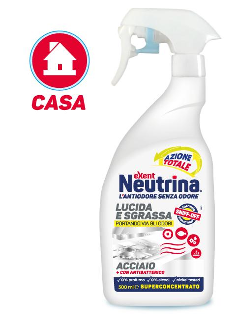 Spray detergente acciaio e superfici cromate elimina calcare e sporco - Casa in acciaio prezzo ...
